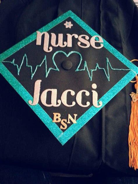 nursing school graduation cap inspire