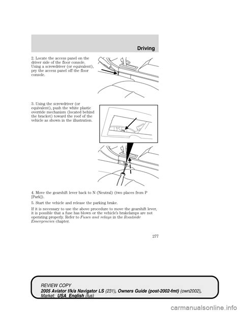 car engine repair manual 2005 lincoln aviator on board diagnostic system lincoln aviator 2005 owners manual