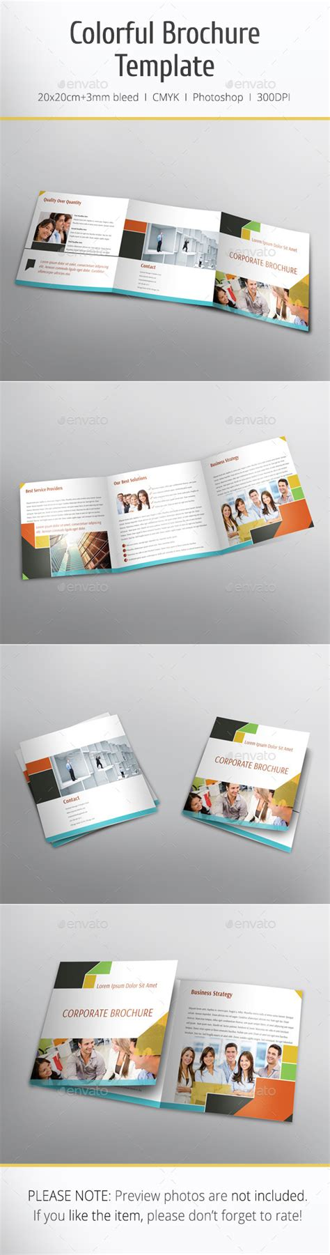graphicriver brochure template print template graphicriver colorful brochure template