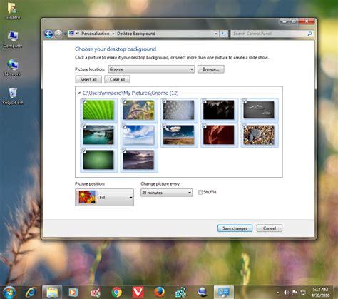 gnome themes for windows 7 gnome nature theme for windows 10 windows 7 and windows 8