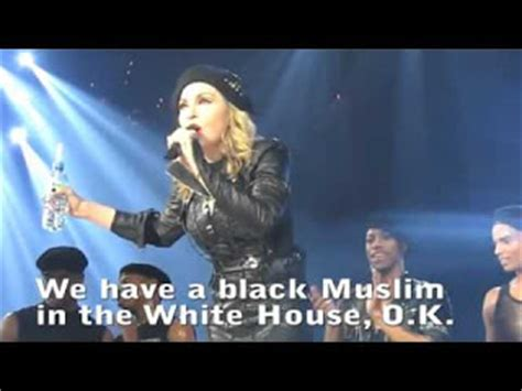 black muslim in the white house chatter busy madonna on obama quot he is a black muslim in the white house quot