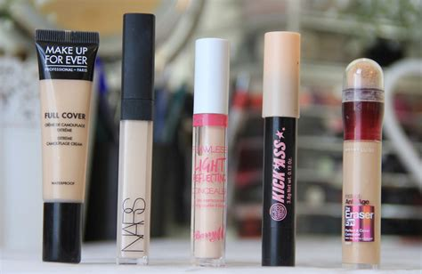 best concealer skin review swatches 5 concealers for pale skin snooks