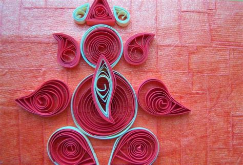 quilling origami tutorial quilling made easy how to make beautiful sri ganesh