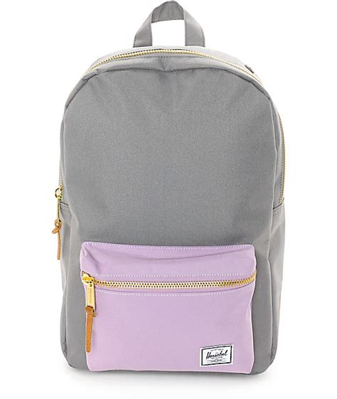 light pink herschel backpack herschel supply co settlement mid lavender grey 17l