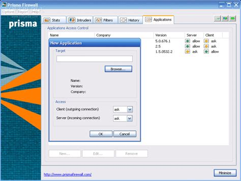 layout manager for prism v2 codeproject prisma firewall review