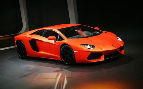 sports cars lamborghini aventador auto car