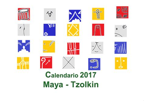 Calendario Digital 2017 El Tzolkin En El A 241 O 2017 Calendario Digital 2017