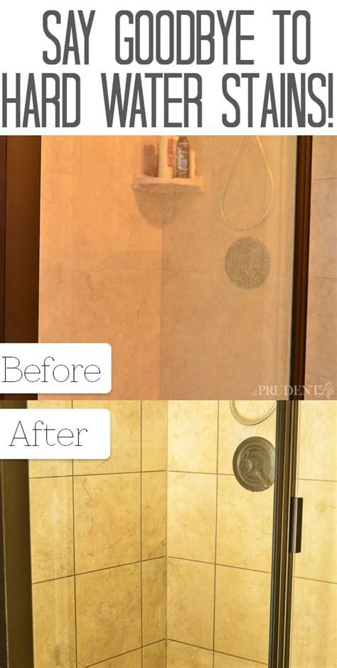 best cleaner for water stains on shower doors best way to remove water stains from shower doors