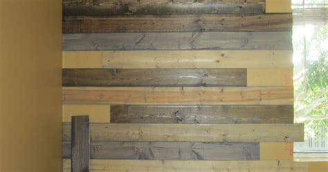 create a faux wood pallet wall wendy james designs faux wood pallet wall buying inexpensive pine boards for