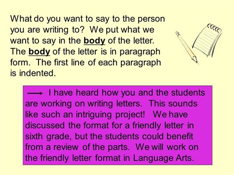 What Does A Gift Letter Need To Say How Do I Write A Friendly Letter Ppt