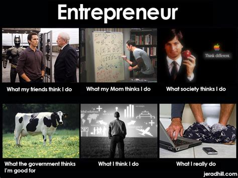 Entrepreneur Meme - successfully self funding and bootstrapping a startup