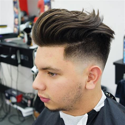 pompadour haircut boys best 60 cool hairstyles and haircuts for boys and men