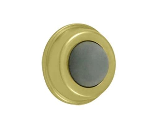 Flush Mount Door Knob by Deltana Solid Brass Convex Flush Mounted Door Bumper Low