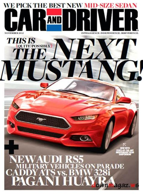 Auto Zeitschriften by Car And Driver Usa November 2012 187 Pdf Magazines