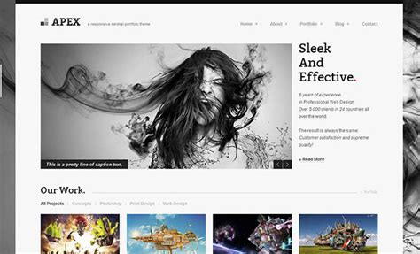 wordpress themes free video portfolio 30 responsive wordpress portfolio themes to showcase your