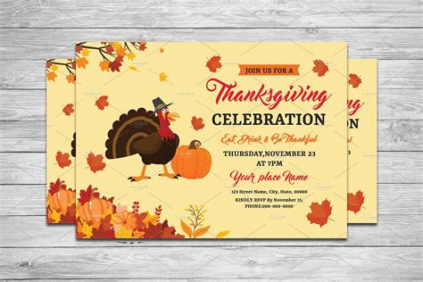 templates for thanksgiving invitations thanksgiving invitation v644 flyer templates
