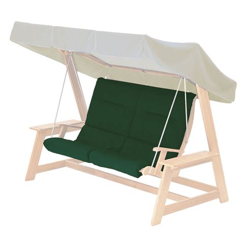 swing seat canopy alexander rose mahogany garden swing seat with canopy