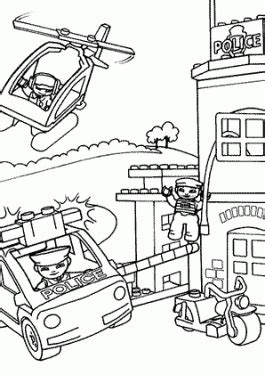 Lego Coloring Pages For Kids To Print And Color Station Coloring Page