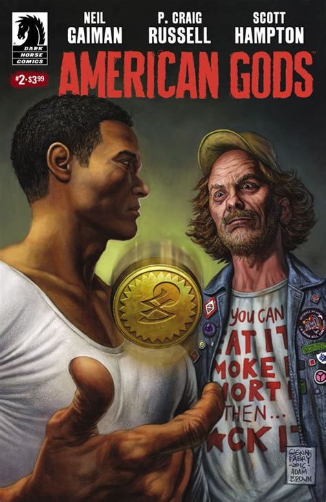 american gods volume 1 shadows graphic novel preview of american gods shadows 2 by gaiman