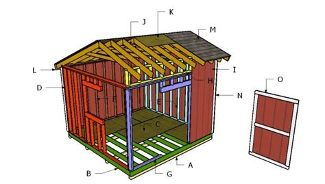 saltbox shed roof plans myoutdoorplans
