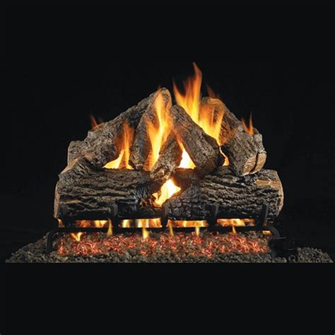 gas fireplace with glass rocks buy 18 20 quot oak charred series gas log san francisco bay area ca the fireplace