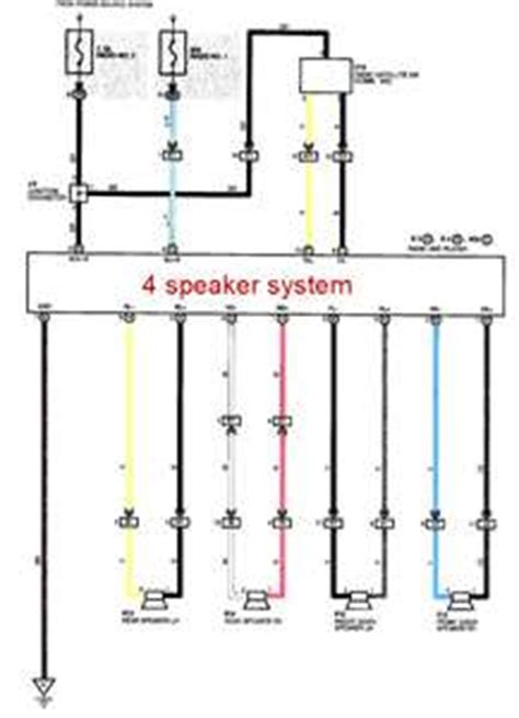 solved wiring diagram for a 2002 toyota with jbl