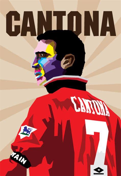 The King Cantona the king cantona by adhiwangsa on deviantart