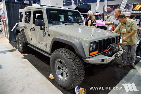 sema jeep yj 2016 sema mytop xj transformed jeep jk wrangler unlimited