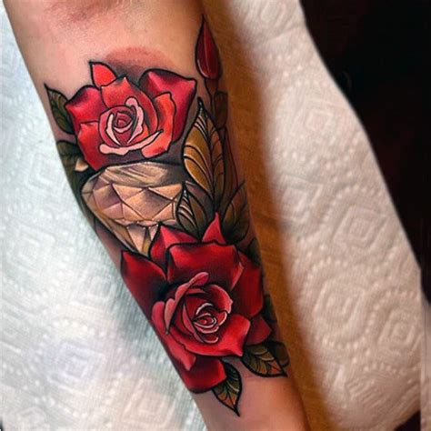 male rose tattoos 70 designs for precious ink