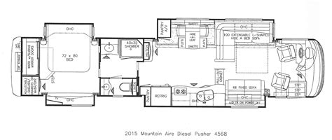 rv floor plans with bunk beds rv floor plans with bunk beds