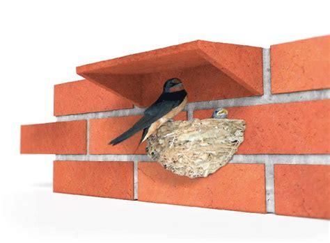 brick habitat for urban wildlife has insect hotel birdhouse