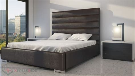very tall headboards contemporary tall headboard with horizontal lines very