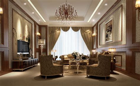 Luxury Livingrooms by Luxury Living Room 3d Model Max Cgtrader Com