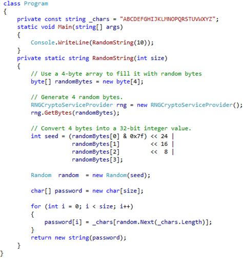 unapteuti   random number generator c sharp