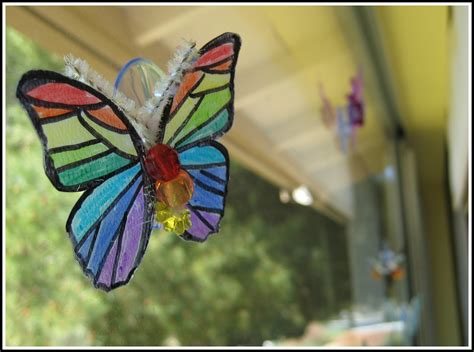 butterfly craft projects projects butterfly window crafting