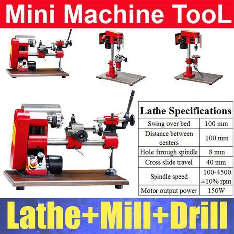 Mesin Bubut Mini Rakitan Diy 6 In 1 20 000rpm diy mini lathe mill drill machine tool 3 in 1 in lathe from home improvement on aliexpress