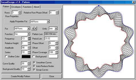 pattern fill tool in coreldraw rosette patterns aka guilloche coreldraw graphics