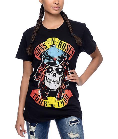 Tshirt Guns N Roses 2 guns n roses tour 88 t shirt zumiez