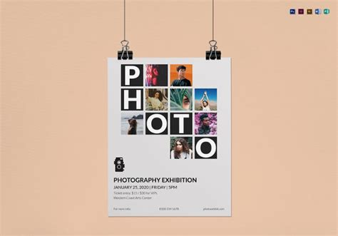 38 Photography Flyer Templates Psd Vector Eps Jpg Download Freecreatives Exhibition Flyer Template