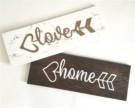 Handmade Sign Ideas - pallet wood signs reclaimed wood signs https www etsy