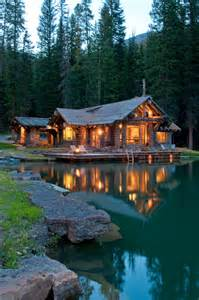 Montana House by A Rustic Cabin In Montana S Prestigious Yellowstone Club