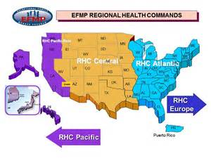 us army regions map exceptional family member program