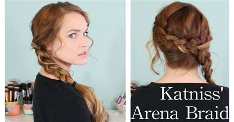 cute hairstyles katniss hunger games katniss arena braid totally wearing my hair