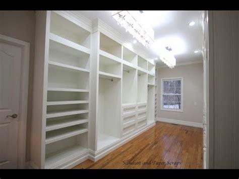 building built  wardrobe cabinets  walk  master