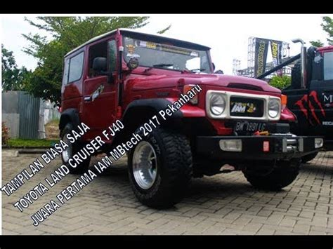 Fj40 Modifikasi by Modifikasi Toyota Land Cruiser Fj40
