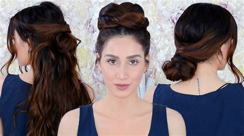Hairstyles Every Girl Needs To Know | 7 easy running late hairstyles every girl needs to know
