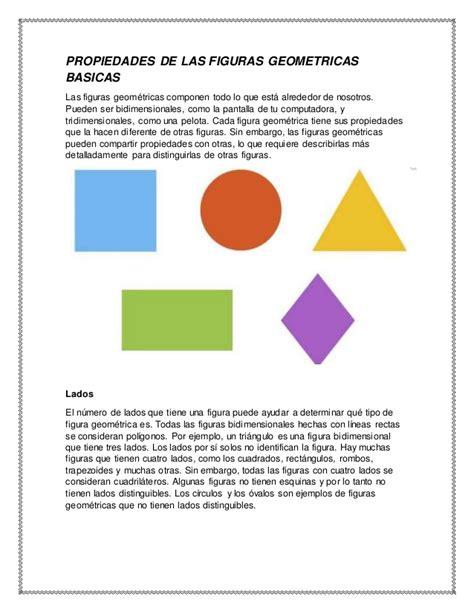 figuras geometricas não planas propiedades de las figuras geom 233 tricas planas