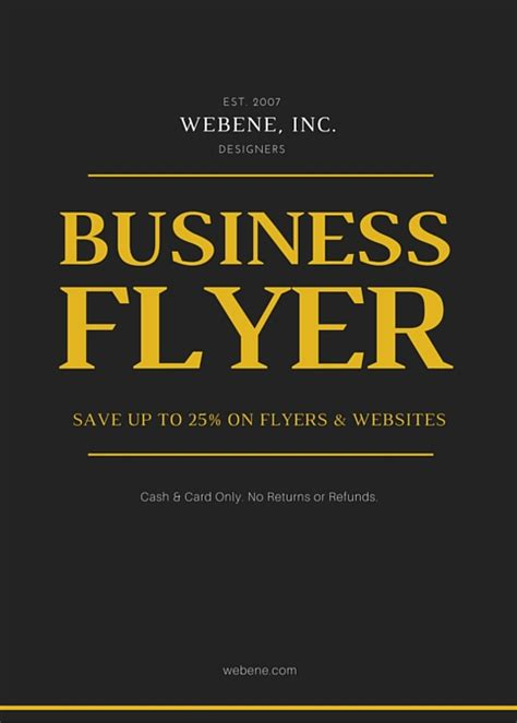 design a flyer for your business secrets to designing a compelling flyer for your business