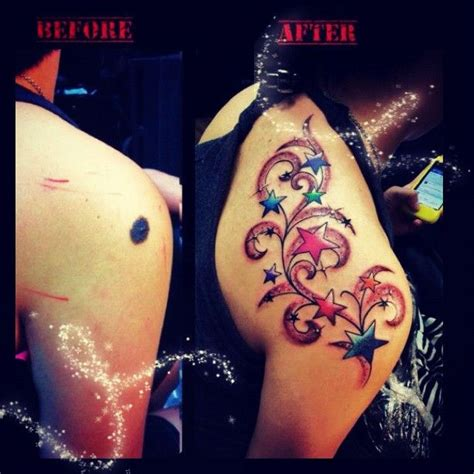 tattoo cover up hollywood 25 best ideas about birthmark tattoo on pinterest color
