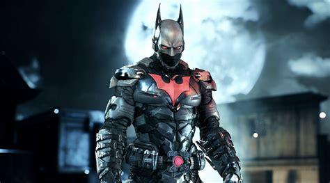 batman arkham images batman arkham statue features batman beyond skin
